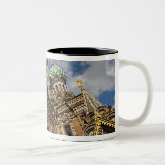 Church of the Saviour of Spilled Blood 4 Two-Tone Coffee Mug