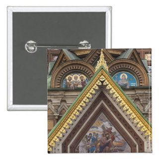 Church of the Saviour of Spilled Blood 15 Cm Square Badge