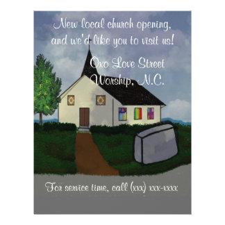 Church opening Flyer