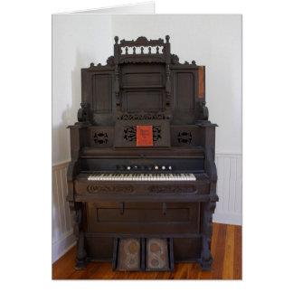 Church Organ Card