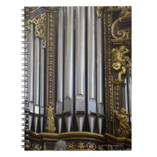 Church Organ Notebook