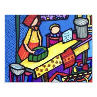 Church Sale by Piliero 11 Cm X 14 Cm Invitation Card