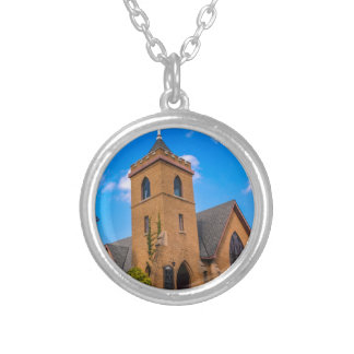 Church Silver Plated Necklace