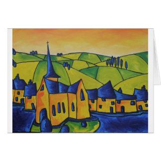 Church Spire Card