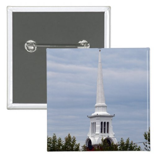 Church Spire Square Button