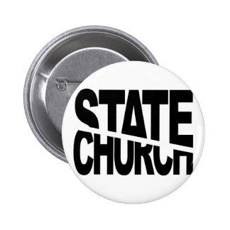 Church State Separation 6 Cm Round Badge