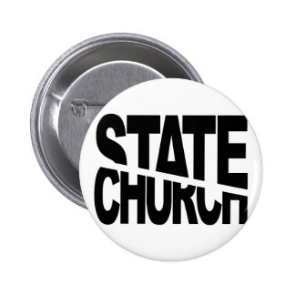 Church State Separation Pinback Buttons