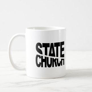Church State Separation Basic White Mug