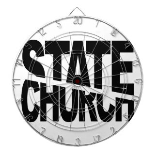 Church State Separation Dartboard