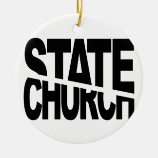 Church State Separation Christmas Ornaments