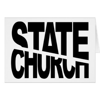Church State Separation Greeting Card