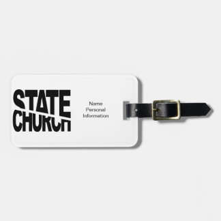 Church State Separation Tag For Bags