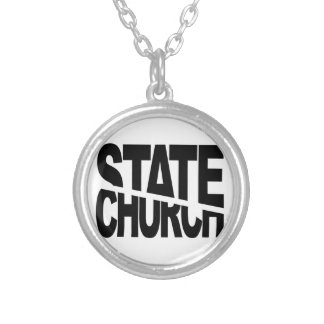 Church State Separation Custom Necklace