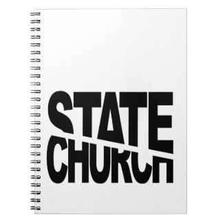 Church State Separation Spiral Note Books