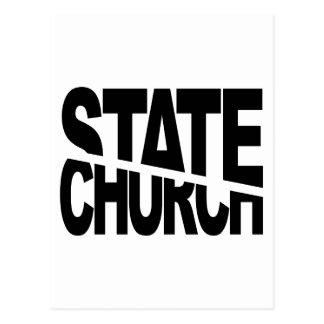 Church State Separation Postcard