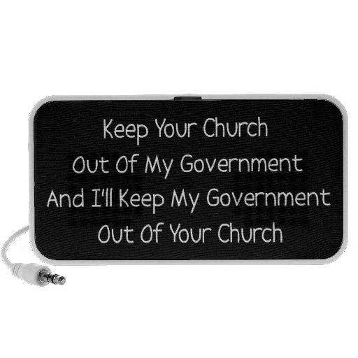 Church State Separation iPod Speaker