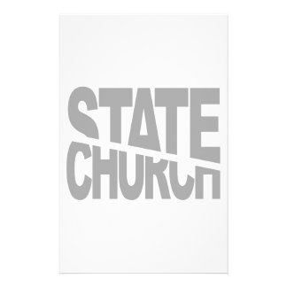 Church State Separation Stationery