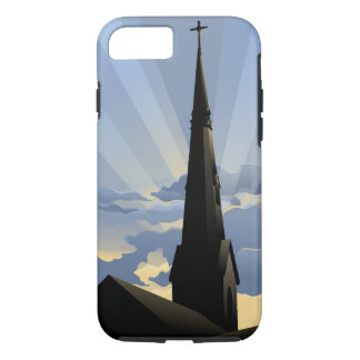 Church Steeple at Dawn iPhone 7 Case