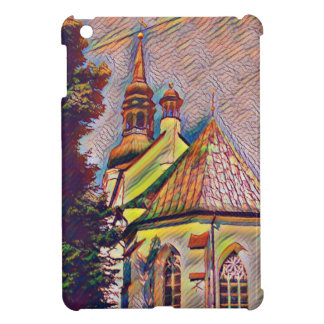 Church Steeples Artistic Photo Manipulation Cover For The iPad Mini
