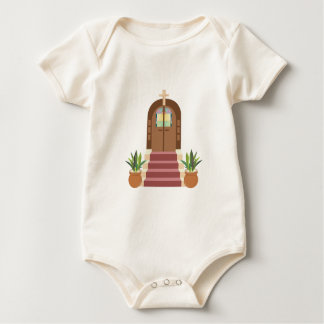 Church Steps Baby Bodysuit