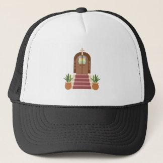 Church Steps Trucker Hat