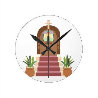 Church Steps Wallclocks