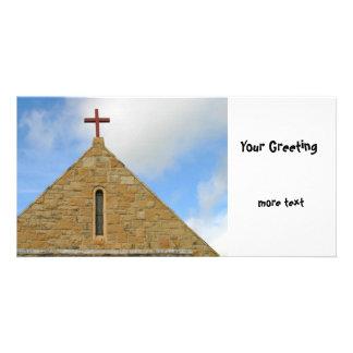 Church Top Photo Greeting Card