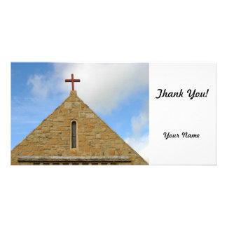 Church Top Photo Card