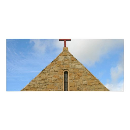 Church Top Rack Card