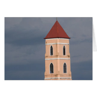 Church tower cards