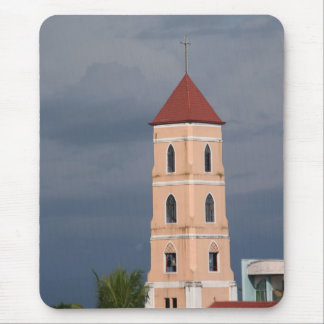 Church tower mouse pad