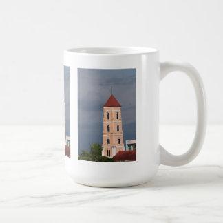 Church tower mugs
