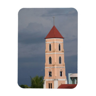 Church tower magnet