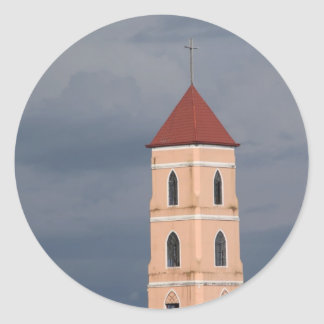 Church tower stickers