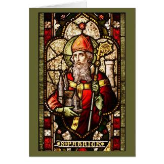 Church Window of St. Patrick - Card