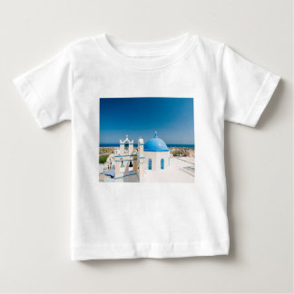 Churches With Blue Roofs Baby T-Shirt