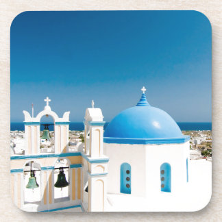 Churches With Blue Roofs Coaster