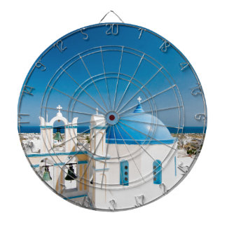 Churches With Blue Roofs Dartboard