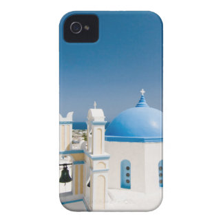Churches With Blue Roofs iPhone 4 Case