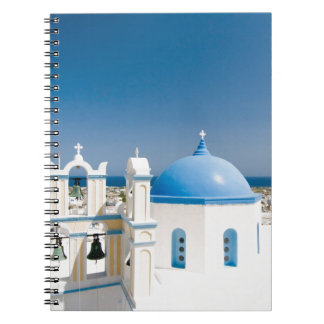 Churches With Blue Roofs Notebook