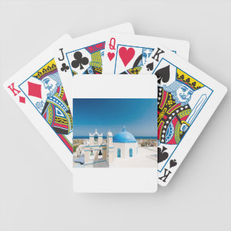 Churches With Blue Roofs Poker Deck