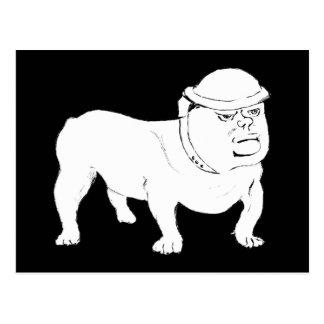 Churchill as Bulldog Postcards