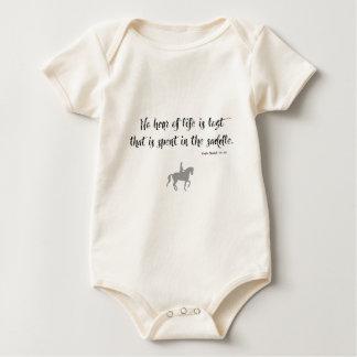 Churchill Horse Quote Baby Bodysuit
