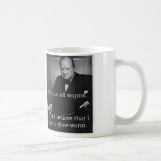 Churchill: I am a Glowworm Coffee Mug