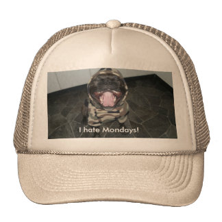 "Churchill ""I Hate Mondays"" Hat"