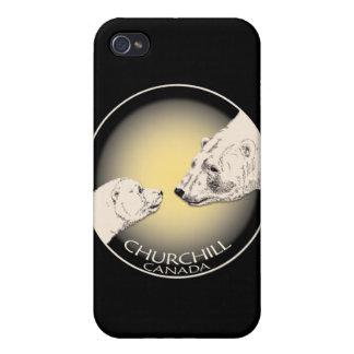 Churchill Souvenir iPhone 4 Case Polar Bear Art