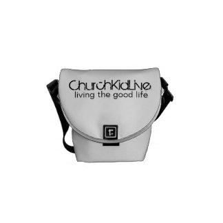 ChurchKidLive: Living the Good Life Messenger Bag