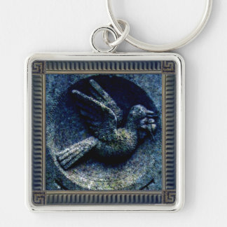 Churchyard Bird Key Ring