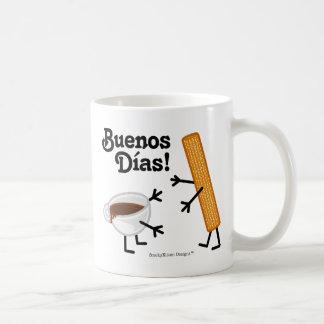 Churro & Chocolate - Buenos Dias! Coffee Mug