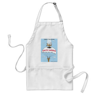 Chute Happens Funny Gifts & Collectibles Adult Apron